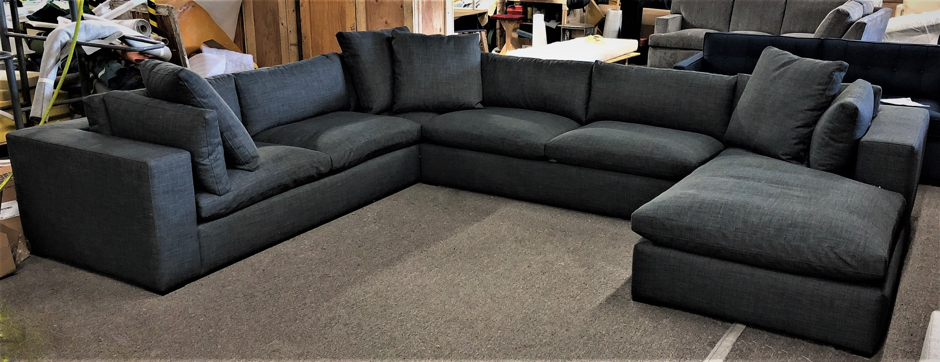 CLAUDIA STYLE ! Custom dream sofa or dream sectional. Leather or ...