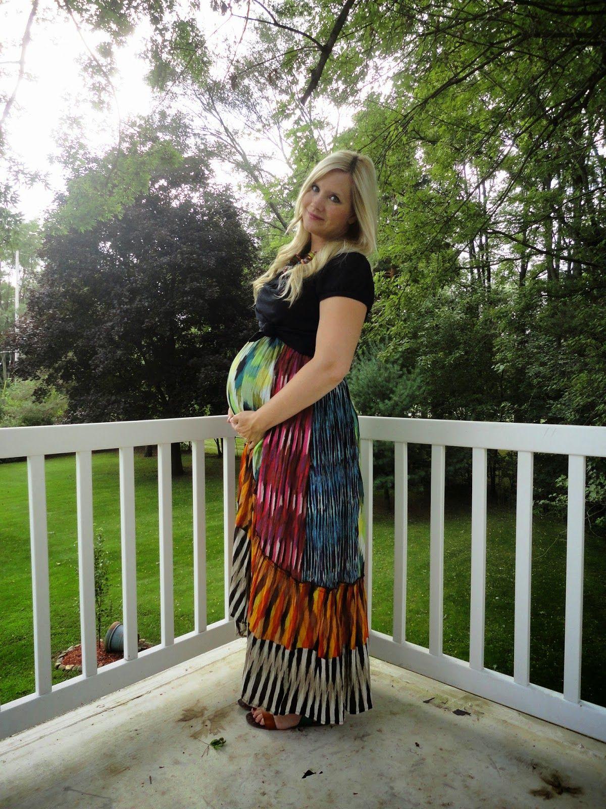 e7fb523464285 The Peacock Fairy #ootd #maternity #wiw #dressingthebump   Maternity ...