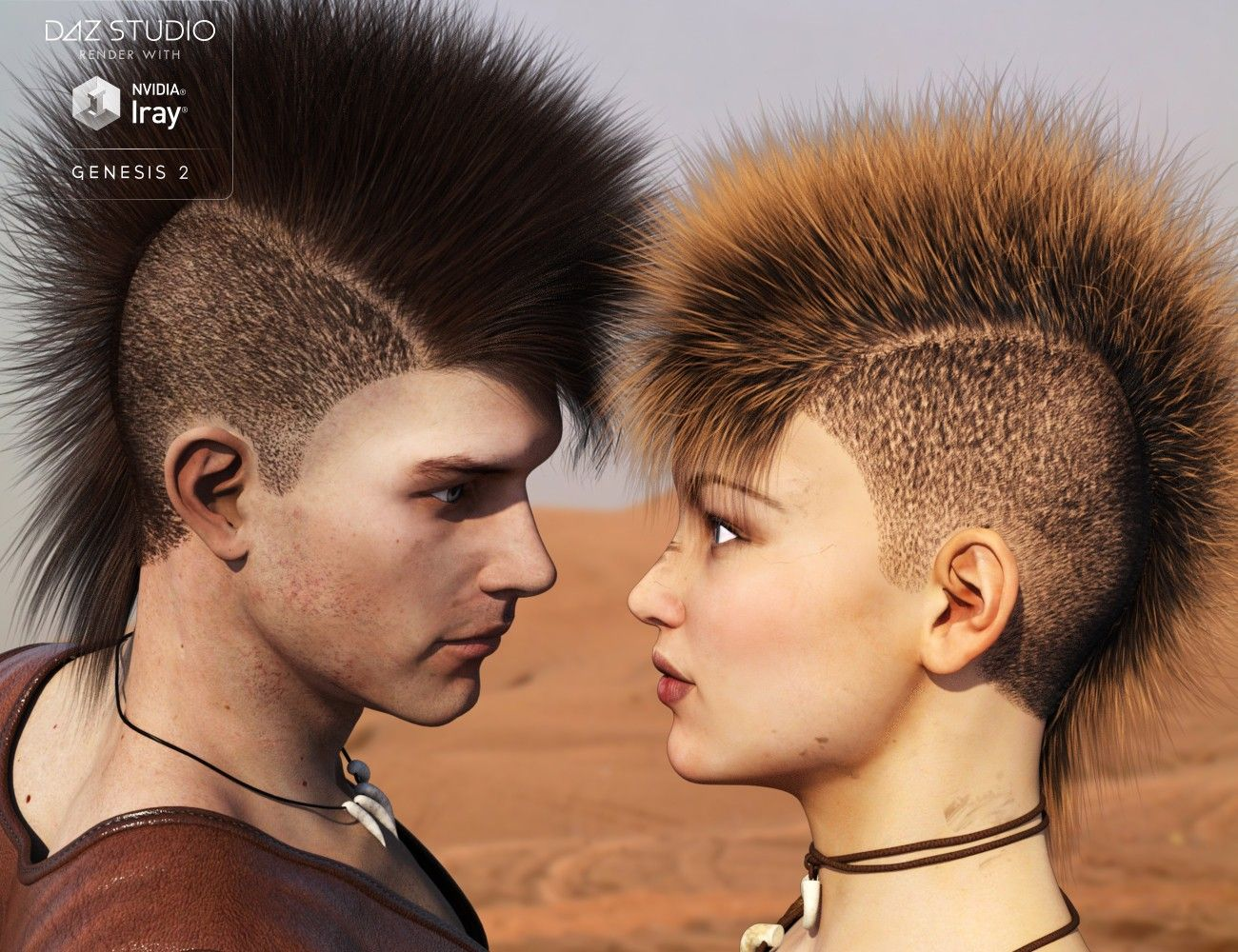 Mad Hair For Genesis 2 3d Models And 3d Software By Daz 3d Hair Genesis 2 Mohawk Styles