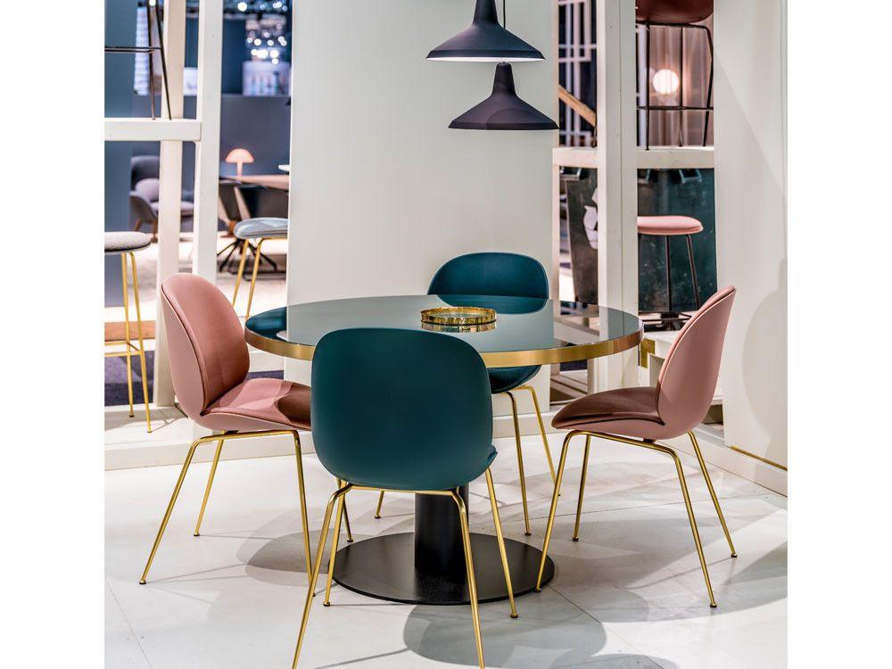 Beetle Front Upholstered Dining Chair - Velvet | Dining ...