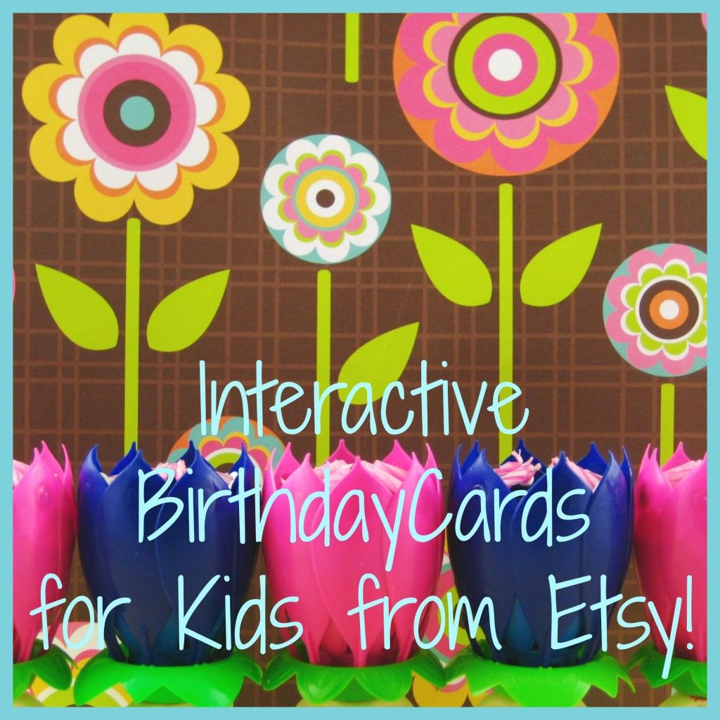 Interactive Birthday Cards For Kids Fire Blossom Candle Fire