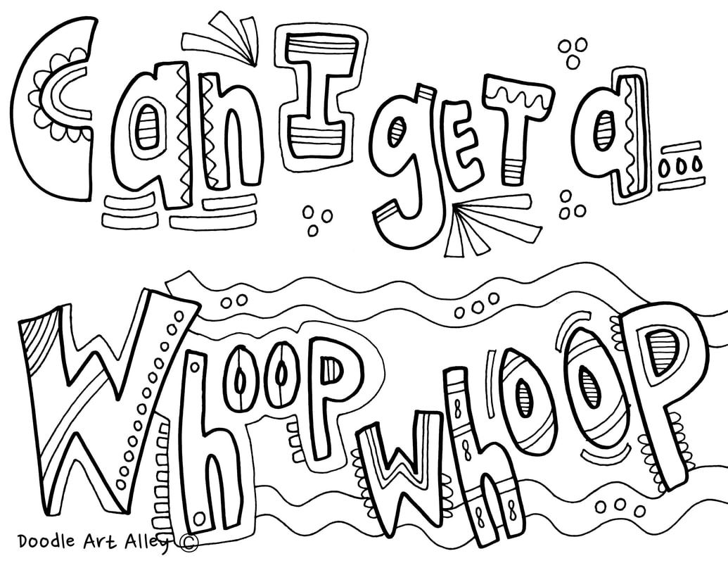 Call Back Coloring Pages from Classroom Doodles