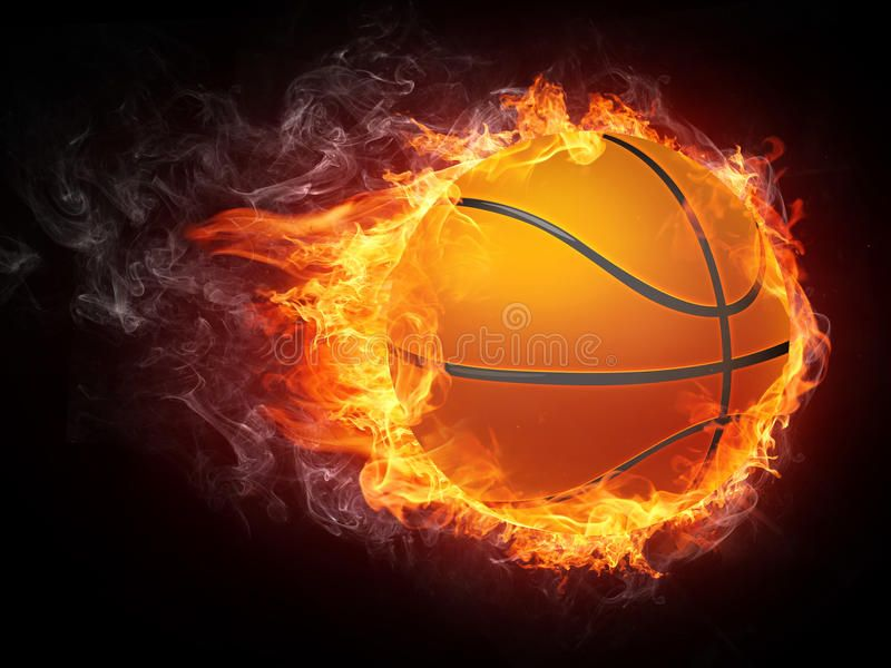 Basketball Ball On Fire 2d Graphics Computer Design Affiliate Fire Ball Basketball Des Basketball Ball Basketball Clipart Basketball Games Online