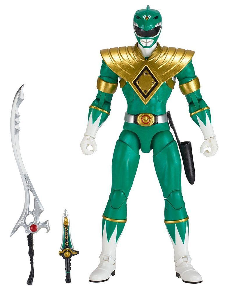 Power Rangers Zeo ~ GREEN RANGER ACTION FIGURE ~ Bandai