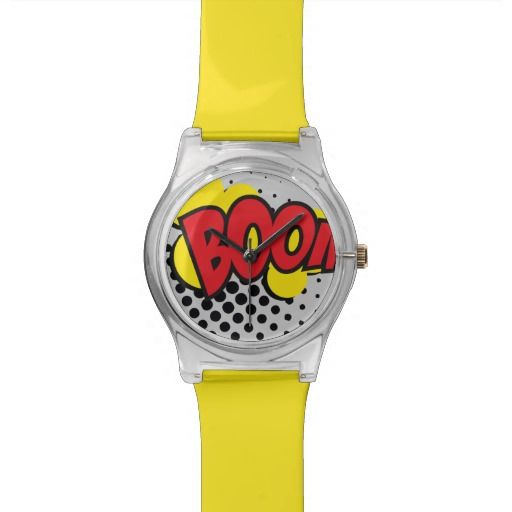 Relojes May28th Boom COMIC EFECT / YELLOW