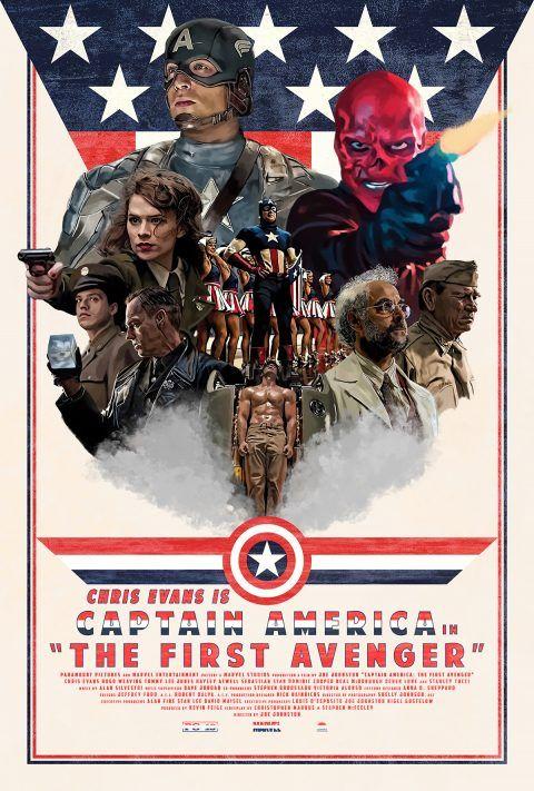 Captain America The First Avenger - PosterSpy