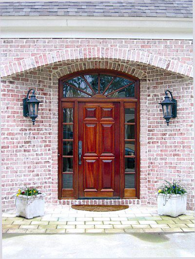 Custom French Country Wood Entry Solid Front Door Doors By Decora French Doors Exterior Wood Front Doors Craftsman Front Doors