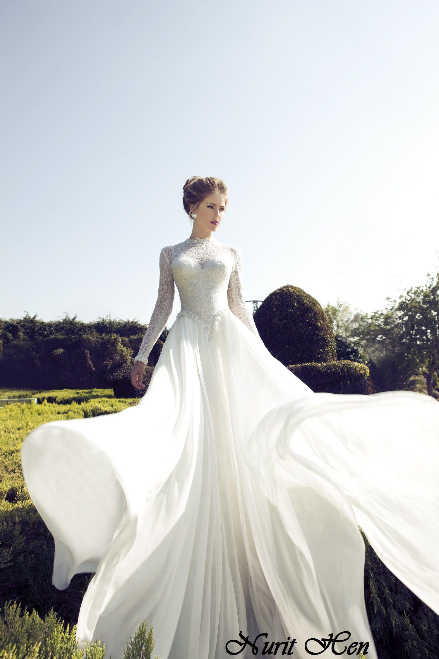 Nurit hen wedding gown rithen eladnurithen