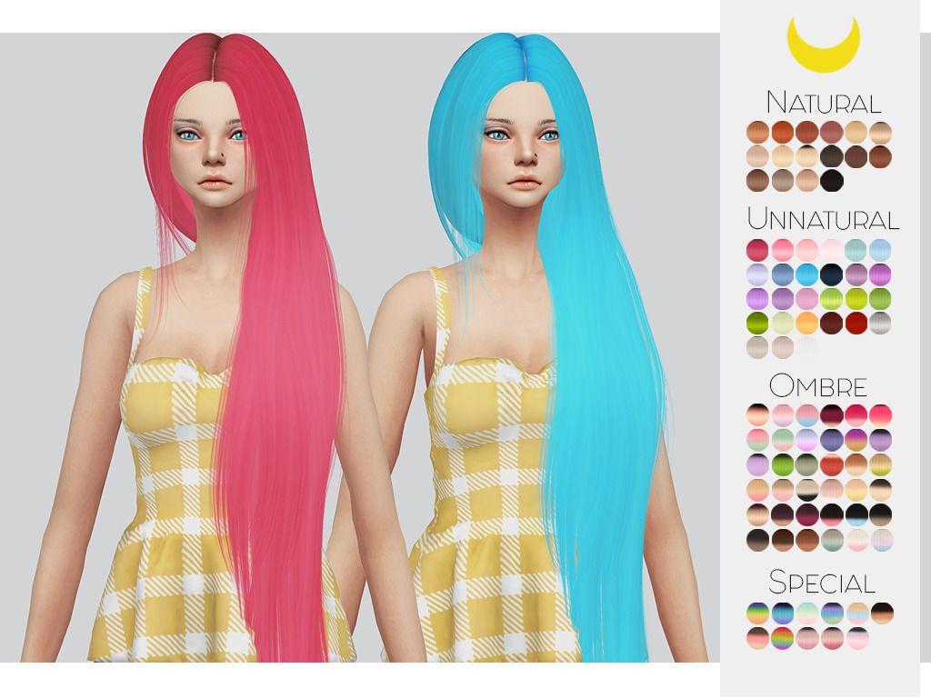 Ts hair retexture leahlillithus nickiu colorsu retexture