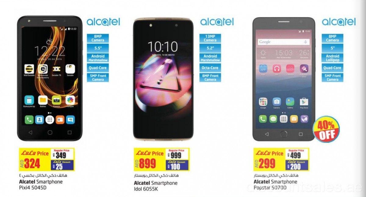 Alcatel Smartphones Exclusive Deals Lulu Enjoy 40 Off On Alcatel Popstar 50700 And Other Alcatel Smartphone With Great Discount Smartphone Dubai Deals Deal