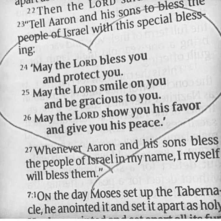 May the Lord BlessYou quote