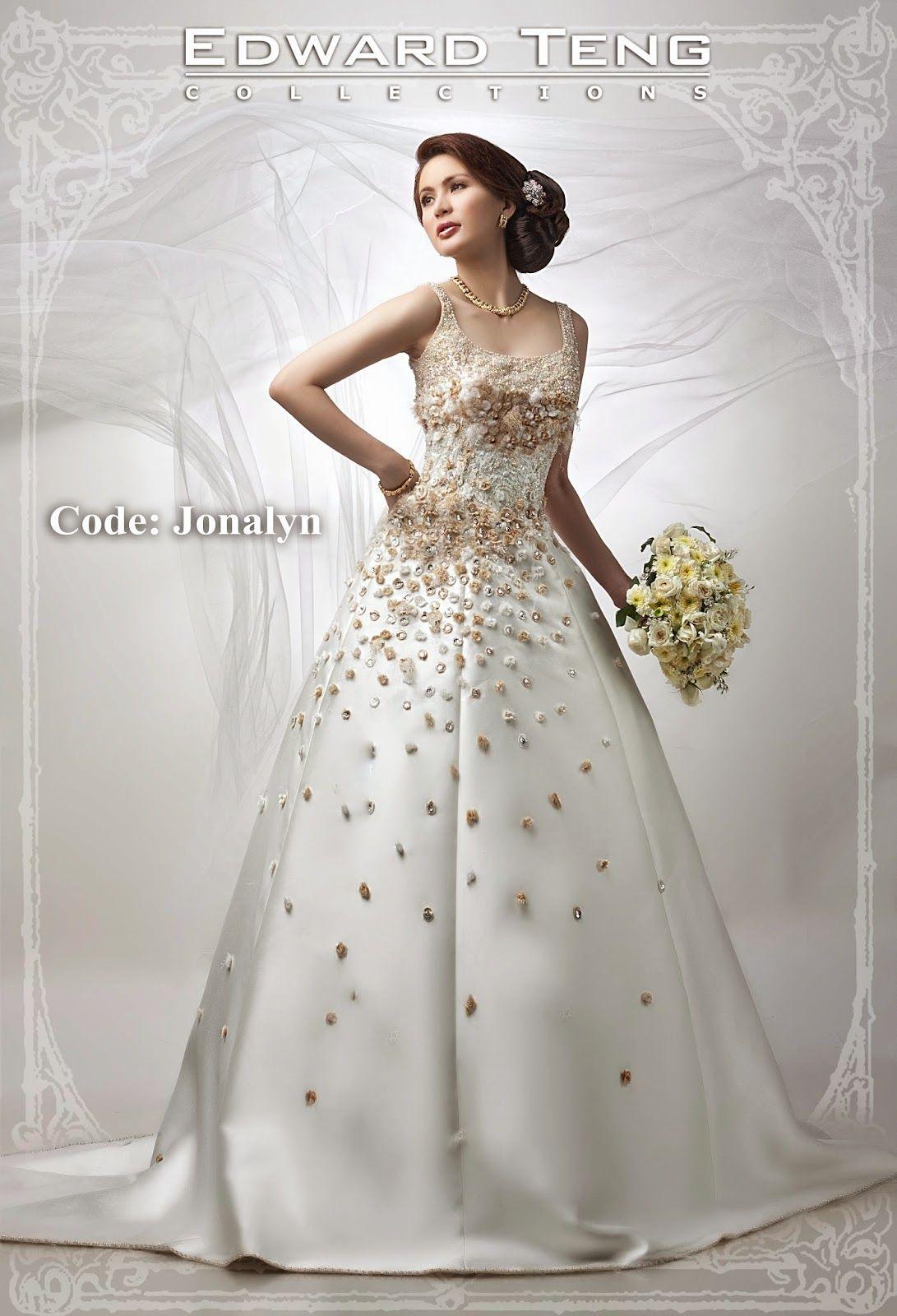 edward teng | philippines wedding gown designer | Pinterest ...