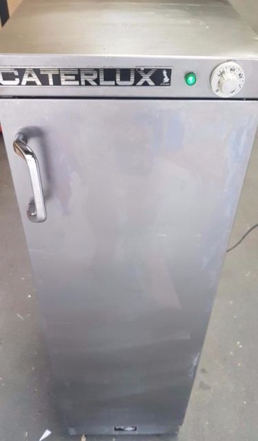 caterlux jupiter commercial catering plate food warmer plain top hot cupboard high quality electric