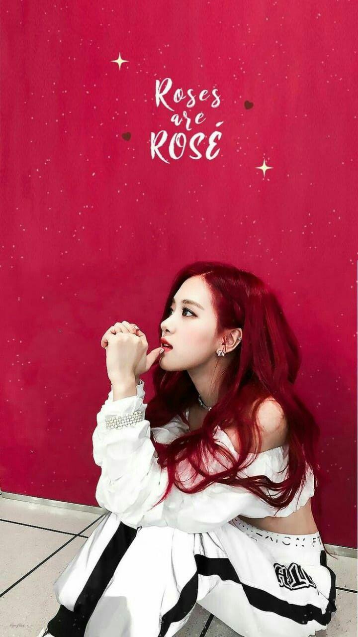Roses Are Rosie Blackpink Rose Black Pink Blackpink