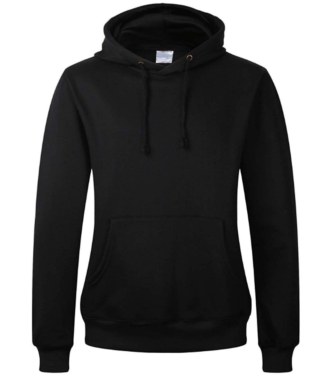 Women S Cotton Hooded Sweatshirt Youth Fleece Pullover Hoodie Black Co18itr9my3 Sports Fitness Clothing Hooded Sweatshirts Black Hoodie Fleece Pullover [ 1500 x 1282 Pixel ]