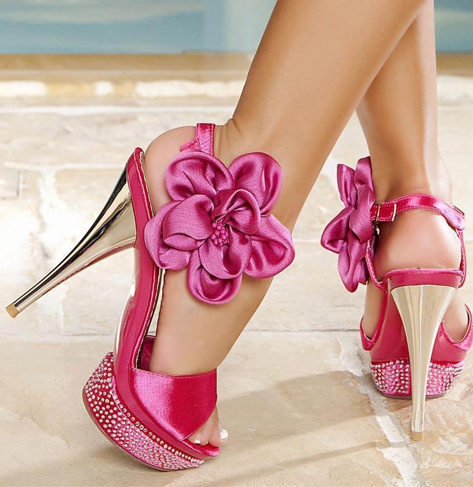 Moda Stiletto Plataforma Sandalias Del Alto Taln Con Bowknot Grande