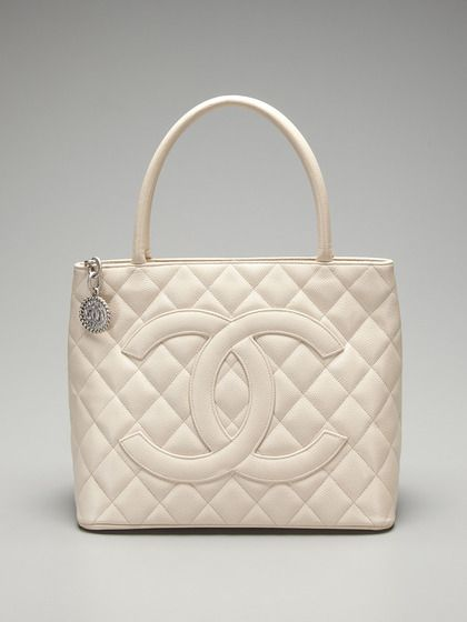Chanel Caviar Medallion Tote By A Second Chance Vintage On Gilt