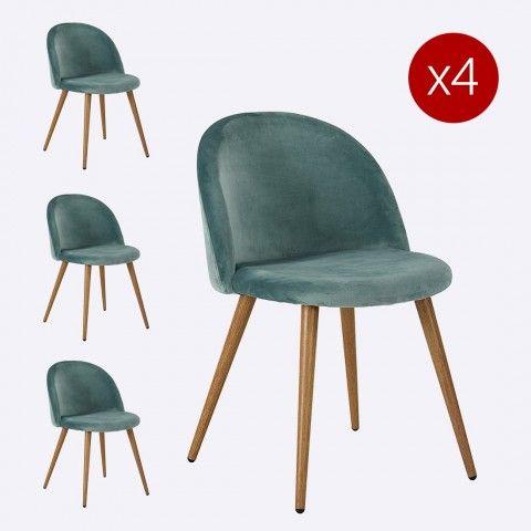 UN DESIGN GéNéREUX Coloris intense et design rebondi pour chaise