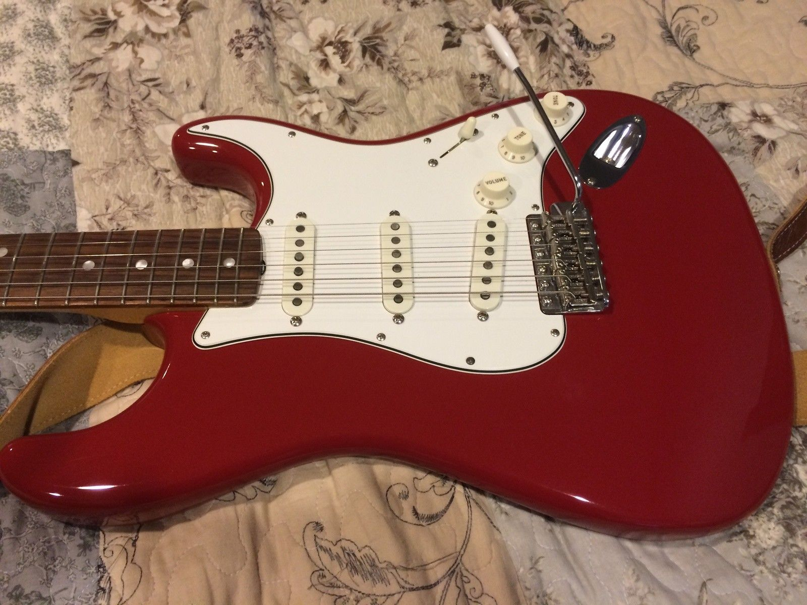 Fender 1965 reissue stratocaster Dakota Red