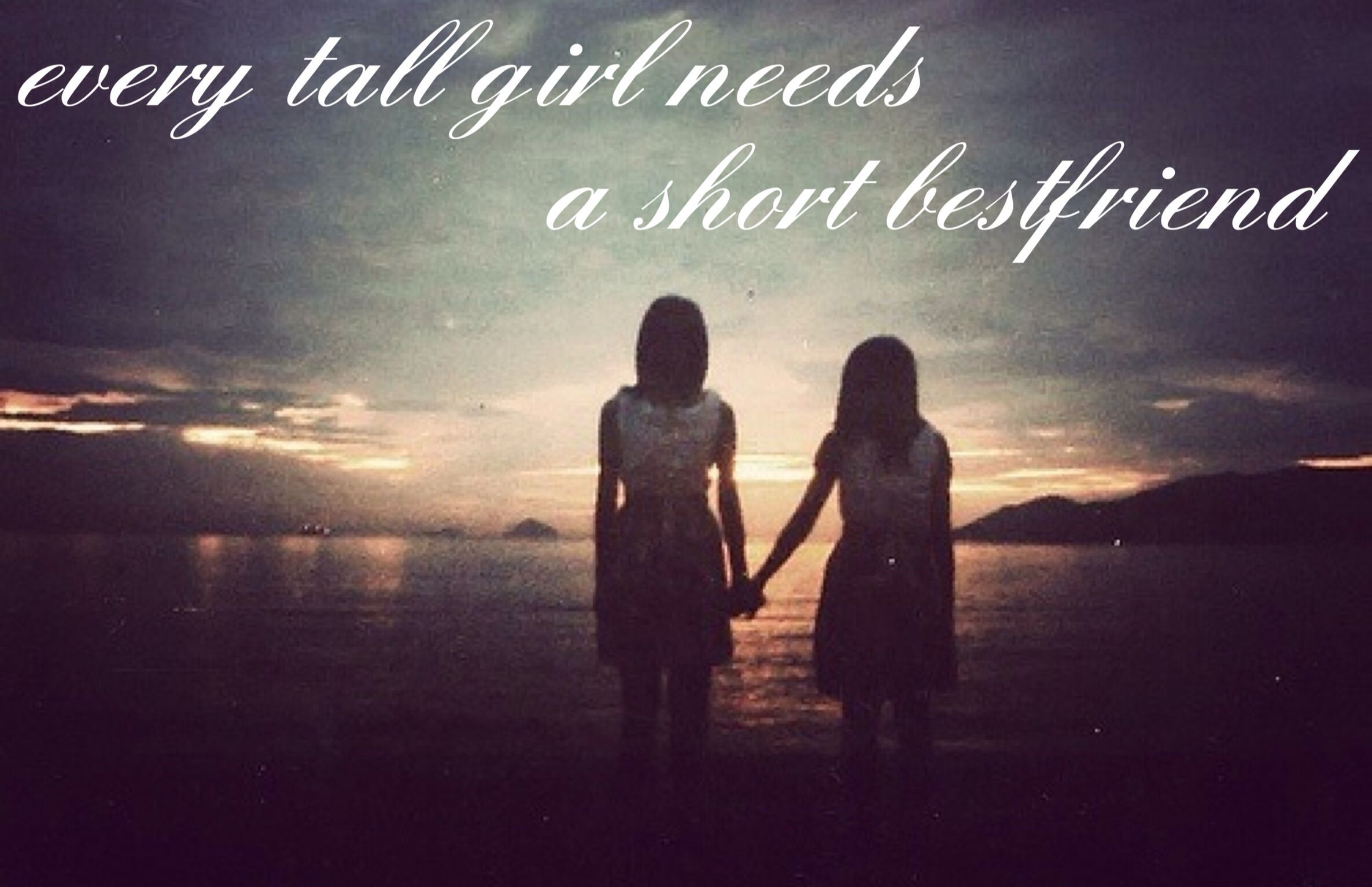 every tall girl needs a short bestfriend | Photo, Best ...