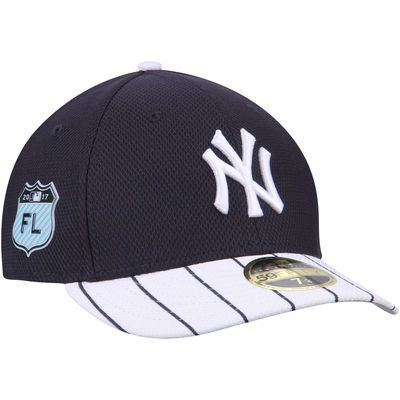 on sale dbc18 92734 Men s New Era Navy New York Yankees 2017 Spring Training Diamond Era Low  Profile 59FIFTY Fitted Hat