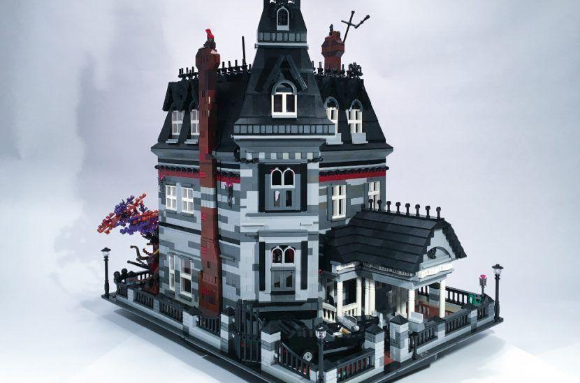 Lego Ideas Spotlight The Addams Family Mansion Cooles Lego La Villa Lego