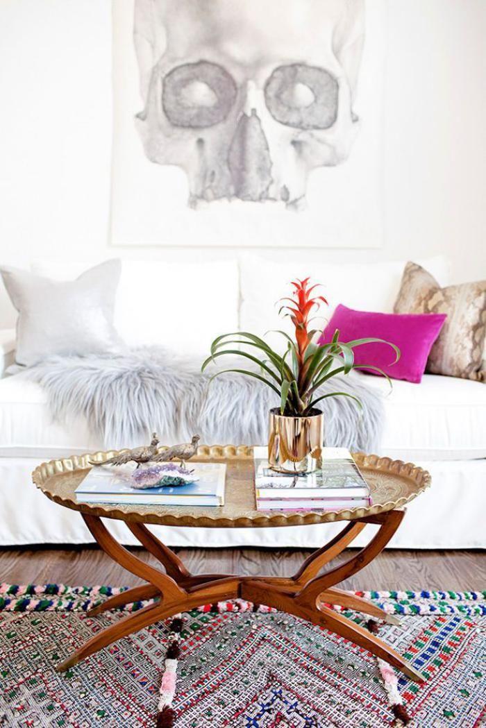 Creez Une Ambiance Charmante En Utilisant Le Plateau Marocain Archzine Fr Deco Idees De Decor Deco Design