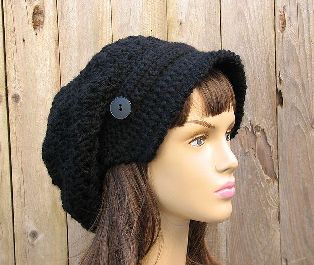 Ravelry  Crochet newsboy hat pattern by Eva Unger 60e6c02bfde