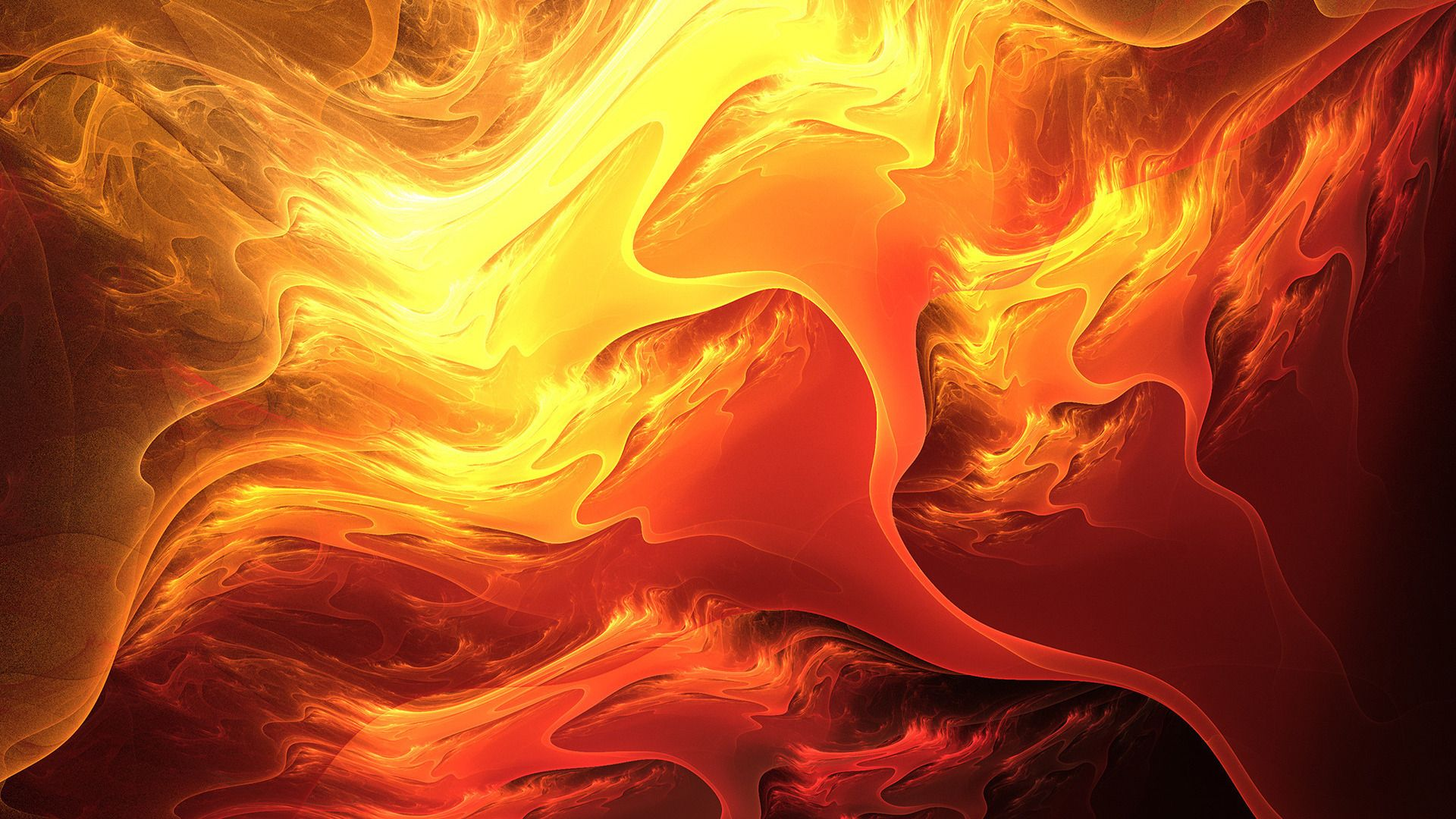 Cool Lava Wallpaper 25756 1920x1080 Px Hdwallsource Com Abstract Fire Art Bright Paintings