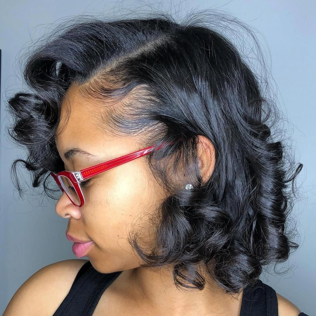 short hairstyles african american Finger Waves