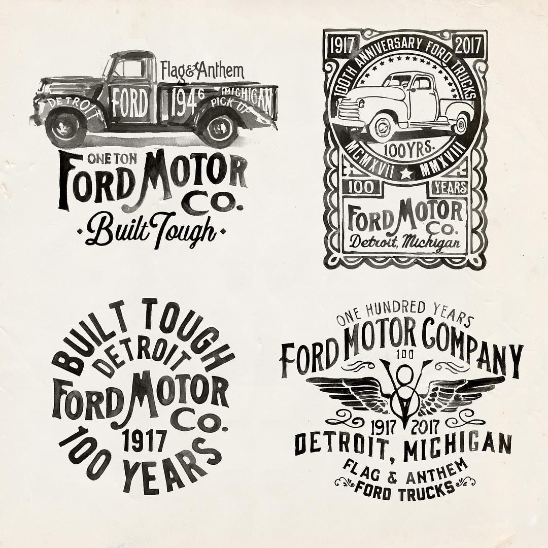 Glennwolk Flag And Anthem Ford Motor Company Collaboration Had
