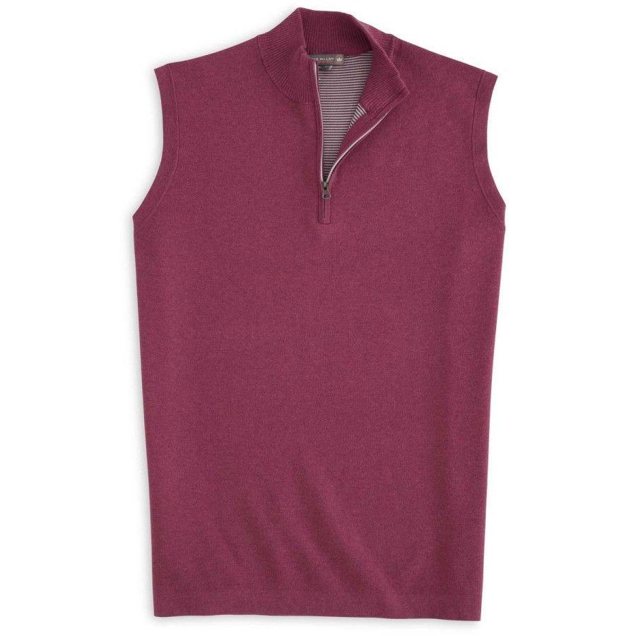 Peter Millar | Seasonal Shelby Quarter-Zip Sweater Vest ...