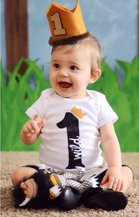 Wild One First Birthday Shirt - 1st Birthday Outfit - Wild ...