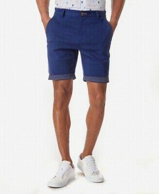 (Sponsored)eBay - Tallia Mens Blue Size 40 Ornate Side Panel Chino Performance Shorts $58- #035
