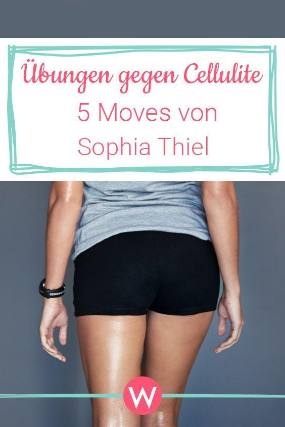 Übungen gegen Cellulite: Sophia Thiel zeigt ihre 5 effektivsten Moves