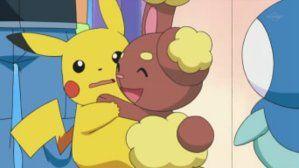 Pikachu And Buneary Hugging By Bijou457 Pokemon Pinterest