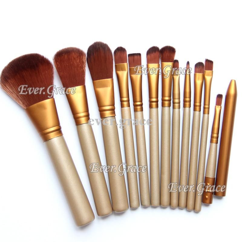 12pc Golden Makeup Brushes Set Foundation Eye Shadow Lip Blush Contour Brush Kit♦️ B E S T Online Marketplace - SaleVenue ♦️👉🏿 http://www.salevenue.co.uk/products/12pc-golden-makeup-brushes-set-foundation-eye-shadow-lip-blush-contour-brush-kit/ US $5.50