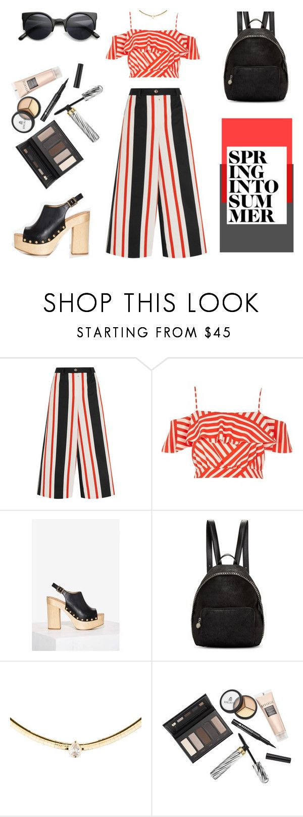 """""""""""It's much better to do good in a way that no one knows anything about."""" -   Leo Tolstoy, 'Anna Karenina'"""" by punkrockmeansfreedom ❤ liked on Polyvore featuring Dolce&Gabbana, River Island, Sam Edelman, STELLA McCARTNEY, Borghese and Retrò"""