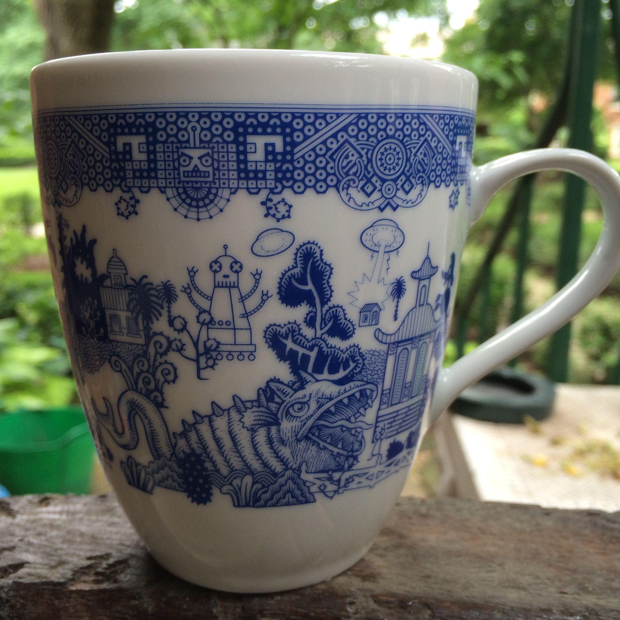 Calamityware Mugs Things Could Be Worse Mugs Porcelain Mugs Calamity