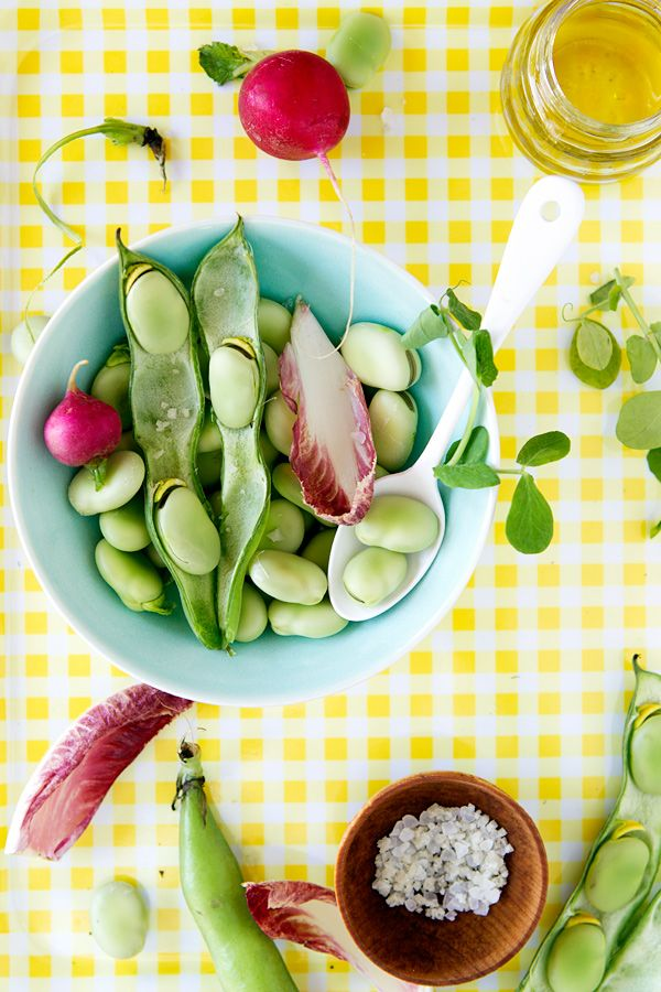 fava bean and pea tartines and a new cookbook