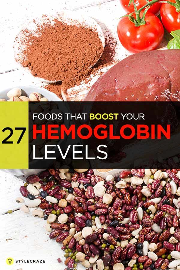 27 foods that boost your hemoglobin levels