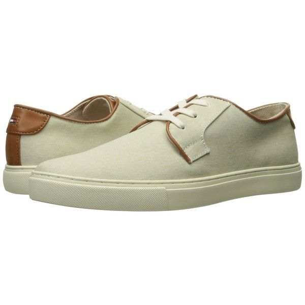 Tommy Hilfiger Mckenzie 2 (Khaki) Men's Shoes ($70) ❤ liked on Polyvore