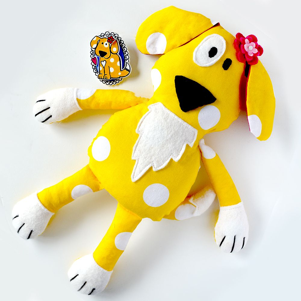 Puppy Dog Doll Softie By The Apple Cottage Company Http Www Applecottagecompany Co Uk Doll Softie Dog Doll Sewing Dolls