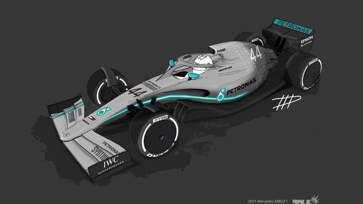 formel 1 auto fur 2021 neues auto im