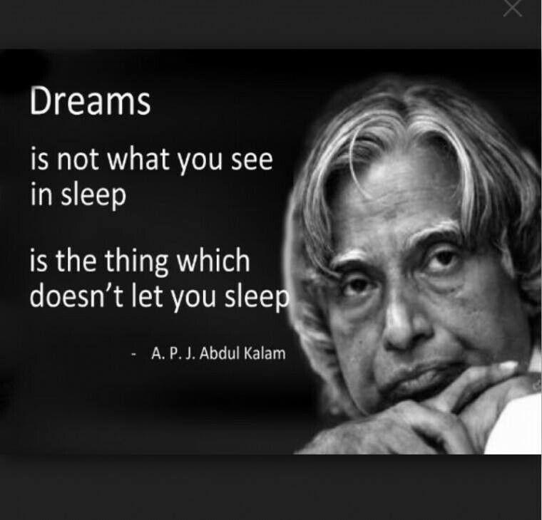 Apj abdul kalam dreams