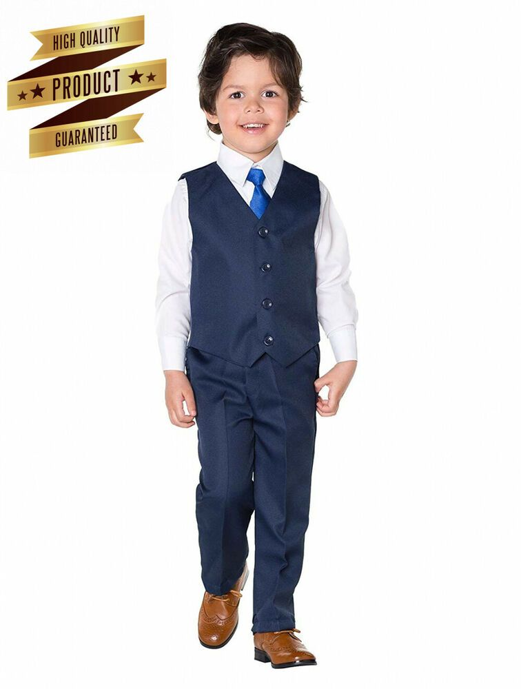 Page Boy Suits Shiny Penny Boys Mesh Blue Suit 8 Years 3-6 Months Boys Waistcoat Suit
