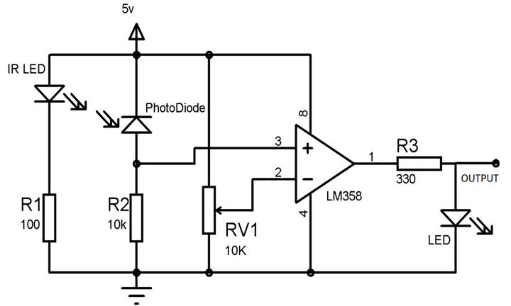 motion sensor circuits