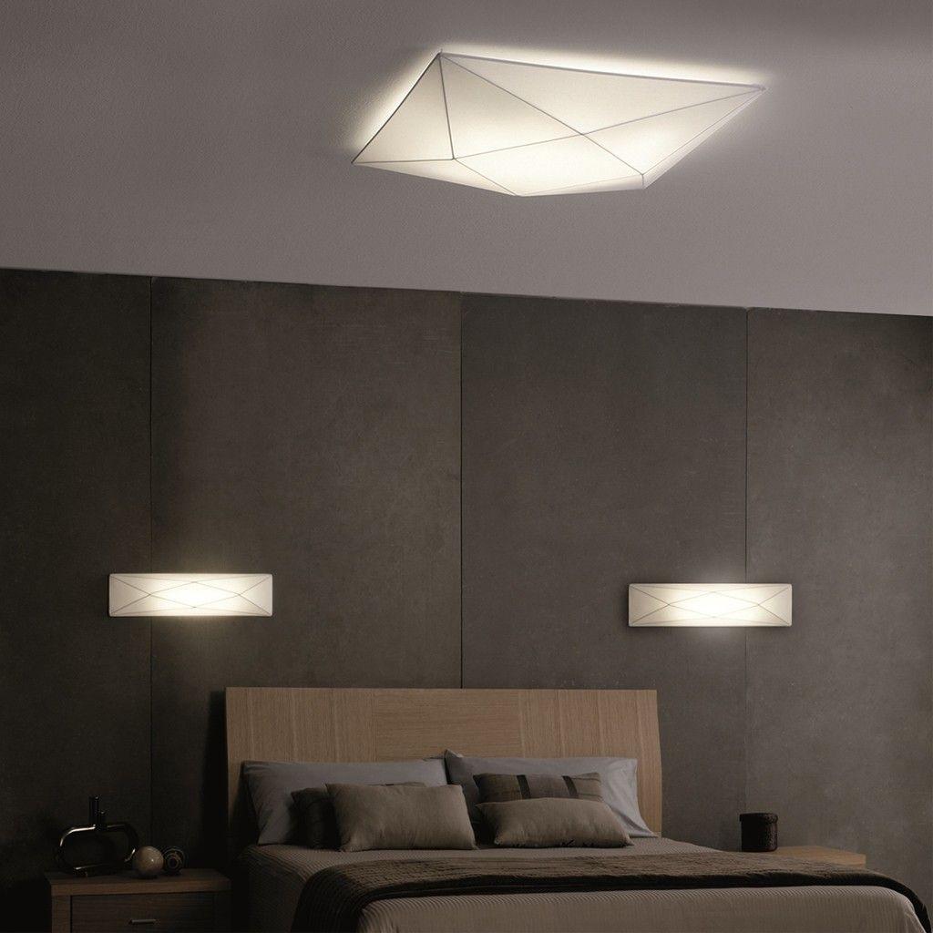 L mparas apliques de pared modelo choapa instaladas en un - Lamparas para dormitorios ...