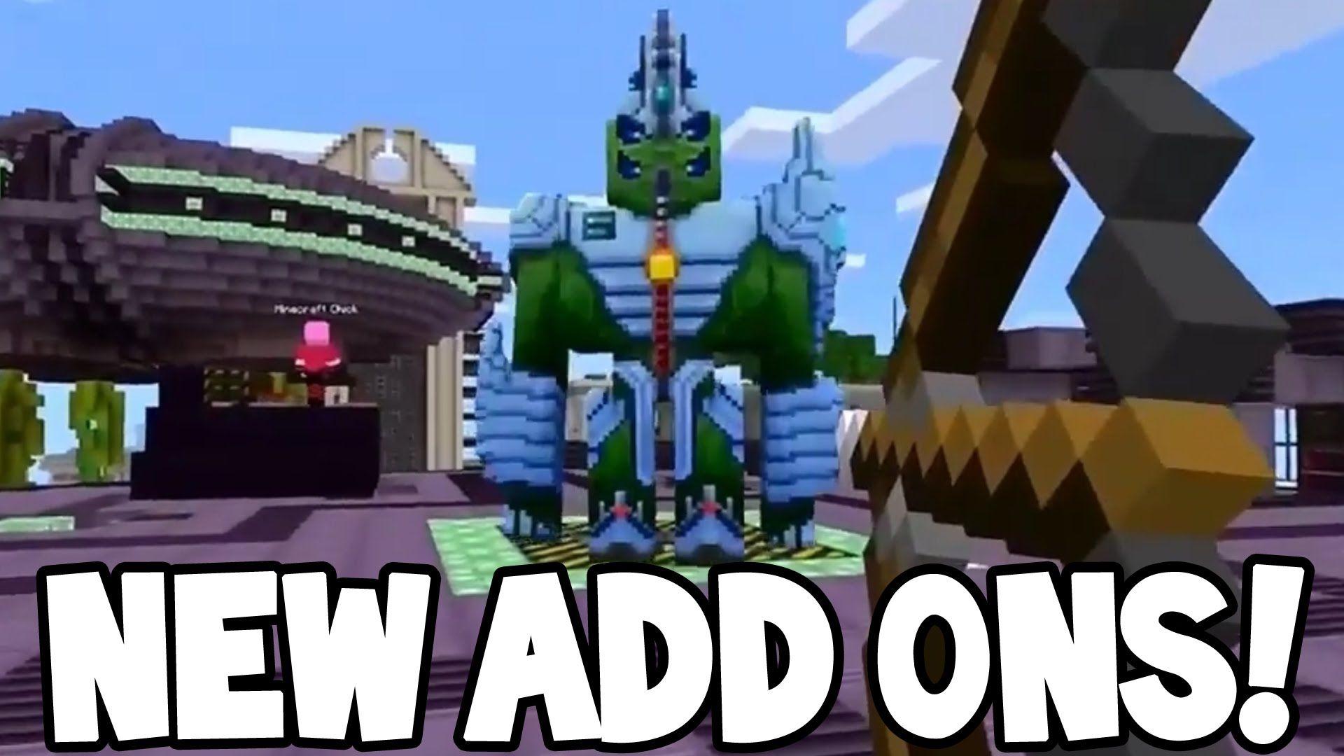 Xbox One Minecraft Add Ons
