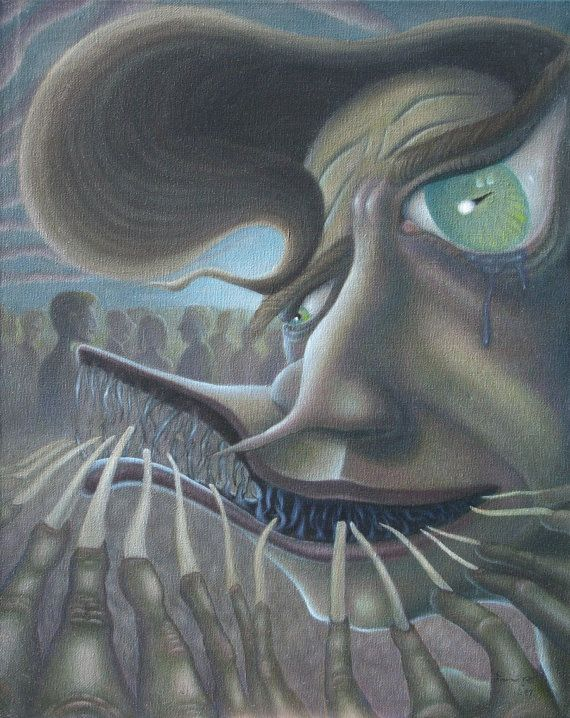 Pariah 16 By 20 Inches Surreal Painting By Samuel Foote Etsy Surrealism Painting Painting Your Paintings